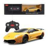 Masina cu telecomanda Lamborghini Murcielago LP670 galben scara 1:24, Rastar