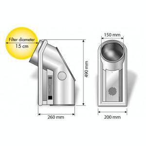 Bioptron 2 Profesional therapy light  by Zepter International Swiss, nou, 2 buc.