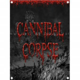 Poster Textil Cannibal Corpse: Skeletal Domain