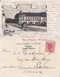 Turnu Severin ( Mehedinti )- Casa Genescu- litografie, Circulata, Printata