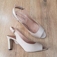 LICHIDARE STOC ! Superbe sandale dama noi piele naturala foarte comode 37