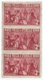 *Romania, Lot 451 cu 3 timbre fiscale locale Bucuresti, Ateneul Roman, 1933, NG, Nestampilat
