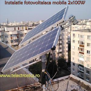 Tracker instalatii fotovoltaice
