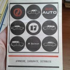 Aprindere, carburatie, distributie