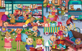 Puzzle cu surprize - Goodygum (100 piese) PlayLearn Toys