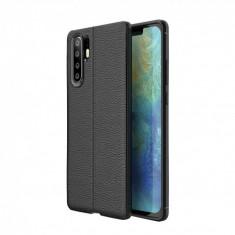 Husa Digitech Fine Business pentru Huawei P30, Negru