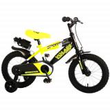 Cumpara ieftin Bicicleta Sportivo Galben Neon 14 inch cu Frane de Mana si Sticla Apa