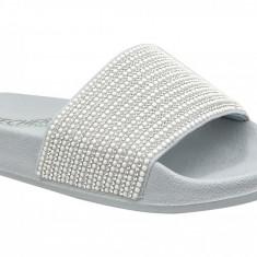 Papuci Skechers Pop Ups 34210-GYSL pentru Femei
