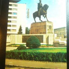 Ilustrata Cluj -Napoca - Statuia lui Mihai Viteazul , anii '70, Necirculata, Printata