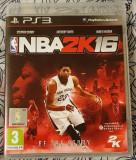 NBA 2k16, PS3, original, alte sute de jocuri, Sporturi, 3+, Multiplayer, 2K Games