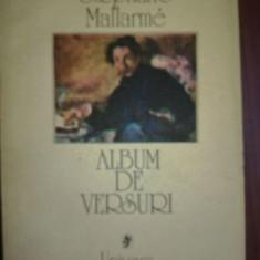 Album de versuri- Stephane Mallarme