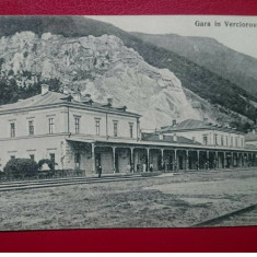 Caras Severin Verciorova gara / negru