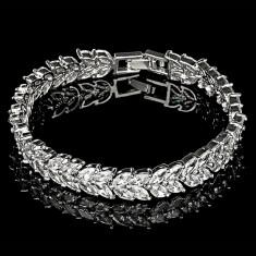 Bratara placata cu Aur 18K si Diamante, Cleopatra