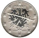 Elvetia 20 Francs 1999 - (Battle of Dornach) Argint 20 g/835, KM-87 UNC !!!, Europa