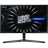 Monitor LED Samsung Gaming Odyssey LC24RG50FQRXEN Curbat 23.5 inch 4 ms Negru FreeSync 144 Hz