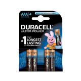 Baterie DURACELL AAA X 4 bucati DURALOCK Ultra power