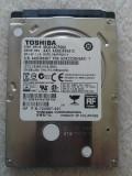 Hard disk laptop 500GB, HDD SATA 2.5 Toshiba MQ01ACF050 2, 7200 rpm TESTAT OK, 500-999 GB, SATA 3