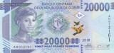 Bancnota Guineea 20.000 Franci 2018 (2019) - PNew UNC ( dimensiuni modificate )