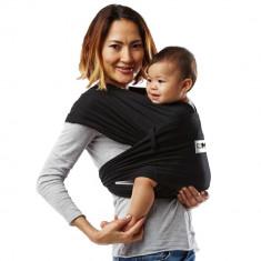 Sistem Purtare Baby K'tan Baby Carrier Original Cotton - Basic Black - Marimea M