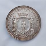 Medalie antebelica Primaria Bucuresci - Rara - Bucuresti