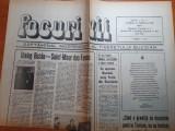 ziarul focuri vii anul 1, nr, 2 - 9 februarie 1990-ziar al tineretului buzoian