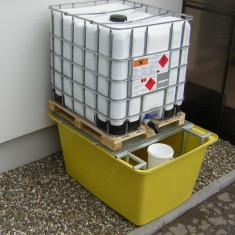 Podea de captare,platforma butoaie,pardoseala tehnica,cuva de retentie