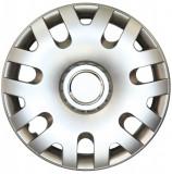Set capace roti Vw Polo, pe 14 inch, culoare Silver, 14-204