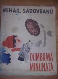 Carte veche Copii,DUMBRAVA MINUNATA -MIHAIL SADOVEANU-1962,Stare FOTO,T.GRATUIT