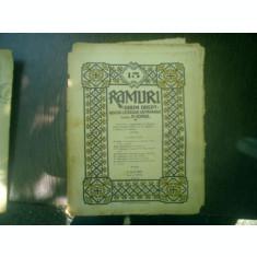 Ramuri - Drum drept revista literara saptamanala anul XVI nr. 15 9 april 1922 - N. Iorga