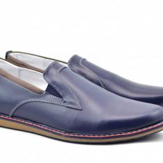 Pantofi barbati sport - casual din piele naturala - TENBOXEBL