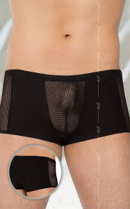 Chiloti Sexy Cu Plasa 4515 - Negru - XL