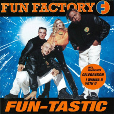CD. Fun Factory ‎– Fun-Tastic