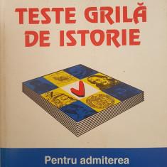 TESTE GRILA DE ISTORIE pentru admiterea in invatamantul superior - IrImia