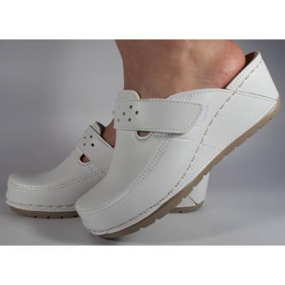 Saboti platforma albi ALL COMFORT neperforati cu gel 240ACN foto
