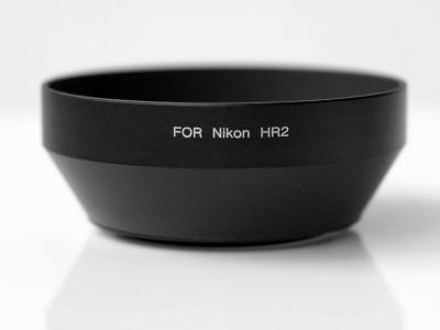Parasolar tip HR-2 pt. Nikon din metal AF NIKKOR 50mm f1.4D f1.8D f1.2 foto