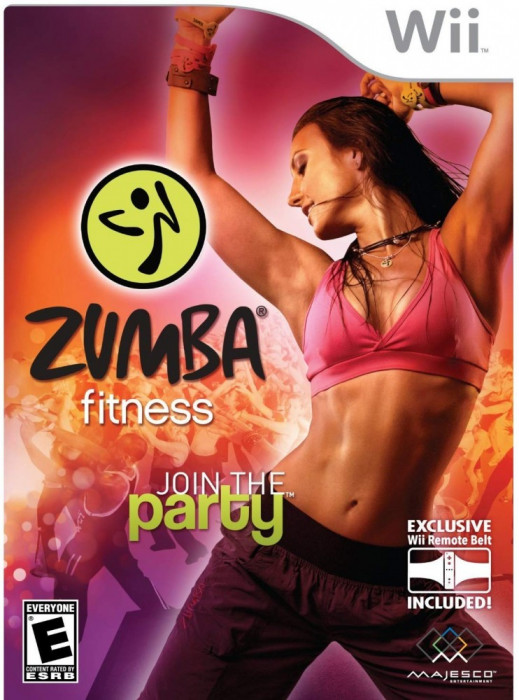 Joc Nintendo Wii Zumba Fitness Join the Party