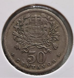 Portugalia 50 centavos 1940, Europa, Cupru-Nichel