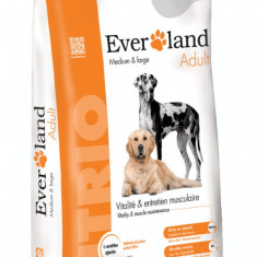 Hrana uscata pentru caini, Everland Nutrio Dog Adult, Medium-Large 15 kg
