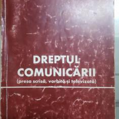 Dumitru T. Popa, Dreptul comunicării, Presa scrisă, vorbită și televizată, 1999
