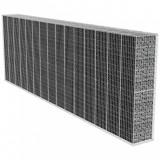 Perete gabion cu capac, 600 x 50 x 200 cm, oțel galvanizat