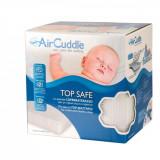 Protectie impermeabila antitranspiratie, Aircuddle, 3D, pentru saltea, 60 x 120 cm, Top Safe, Ts-120