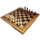 Joc 3:1 - Sah, table, dame! Cutie lemn, 40x19cm