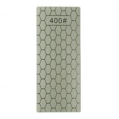 Placa metalica brici, pentru ascutit / slefuire, granulatie 400, argintie