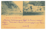 4272 - RAUL VADULUI, Valcea, Bridge, Tunnel, Litho - old postcard - used - 1901