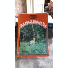 ALMANAHUL VANATORULUI SI PESCARULUI SPORTIV 1984