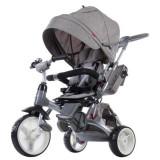 Cumpara ieftin Tricicleta cu sezut reversibil Sun Baby 007 Little Tiger - Melange Grey