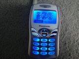 Cumpara ieftin MINI TELEFON DE COLECTIE PANASONIC EB-A102 FUNCTIONAL SI DECODAT.CITITI ANUNTUL!, Argintiu, Neblocat