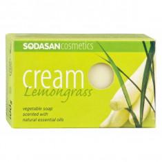 Sapun crema ecologic cu lemongrass 100gr