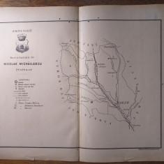 JUDETUL VASLUIU/ JUDETUL VASLUI  // HARTA CROMOLITOGRAFIATA, 1904