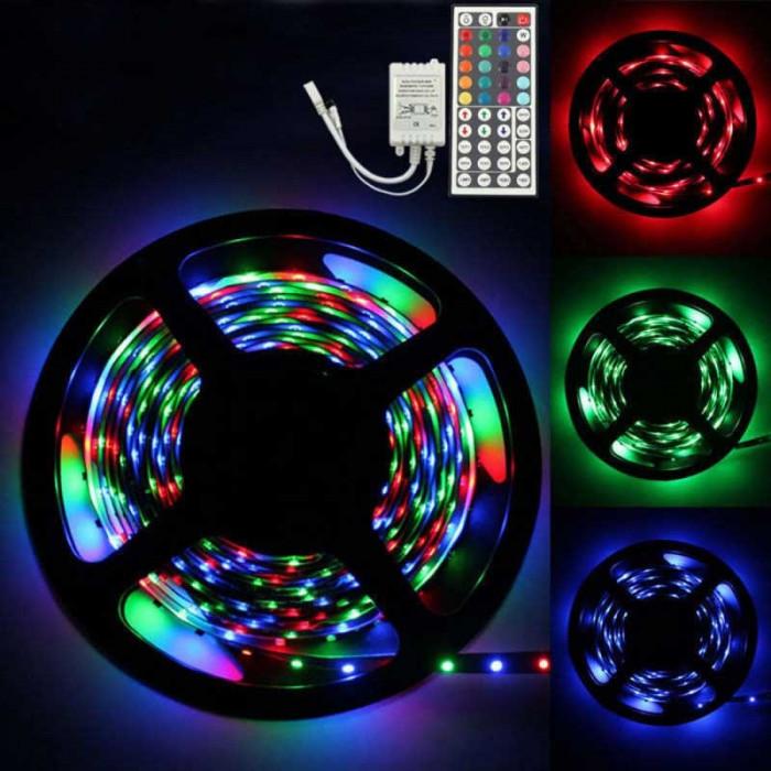 KIT BANDA LED RGB IP65 CU ALIMENTATOR SI CONTROLER